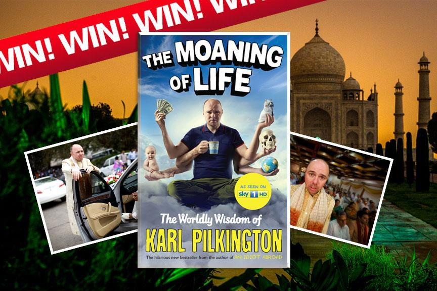 Want to #WIN a signed #KarlPilkington #MoaningofLife Book and Poster? RT, FOLLOW and FAVOURITE to enter! #GoodLuck http://t.co/BPra4Nhaf6