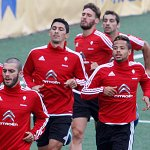 22 jugadores convocados para el amistoso de esta tarde ante el @CoruxoFC1 (20h, O Vao)-->http://t.co/209e1Uj7DO #RCCV http://t.co/Q3ublIWBRa