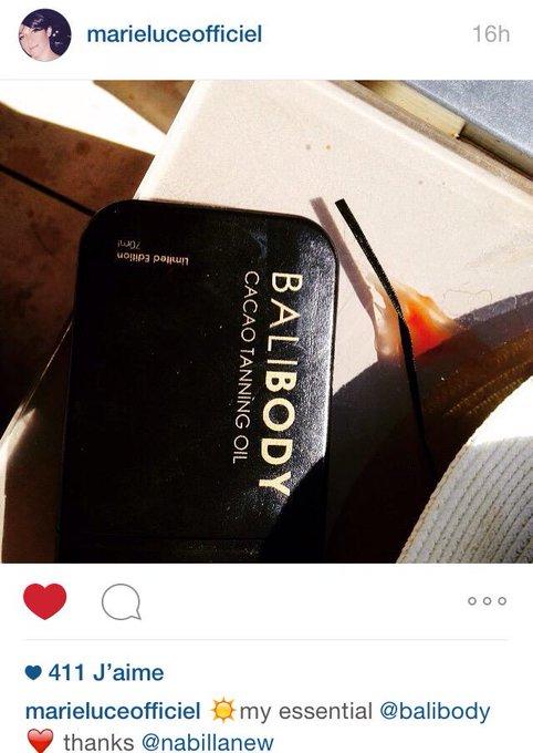 #PHOTO : Postée par Marie Luce la maman de Nabilla sur Instagram. (marieluceofficiel) Cadeau offert par Nabilla. ✌?️ http://t.co/zrpvN2mQbn