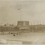 Fantastic Image of League Park ca. 1900. http://t.co/Ierl6WROiC