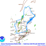 Severe thunderstorm watch issued for much of Massachusetts. http://t.co/kUYdW9xpfK