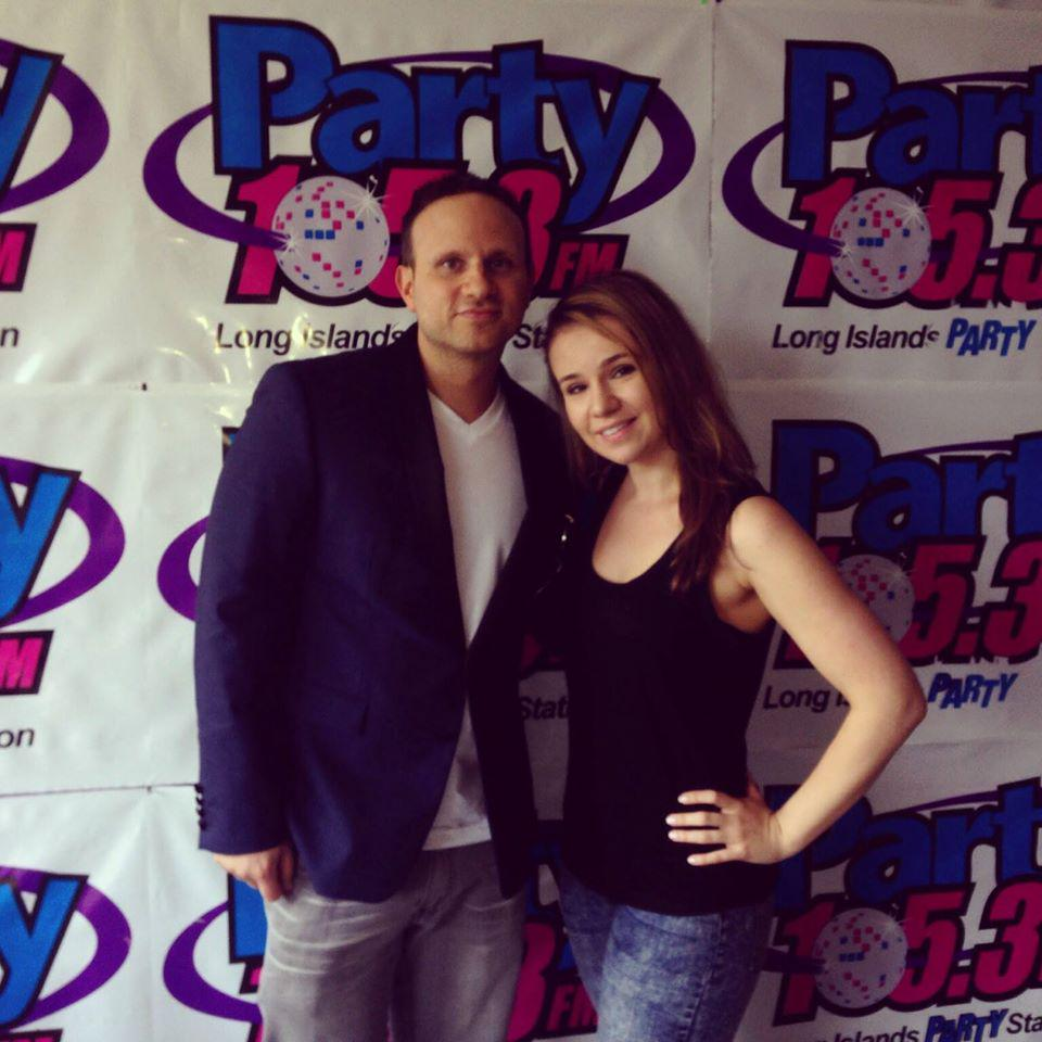 So much fun chatting with @SeldomSeen1 today!  He's so talented, super nice and he's from #LongIsland! http://t.co/ETn27JDH5y