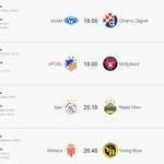 Under 1 hour until #UCL 3Q ties kick-off! @Molde_FK v @gnkdinamo & @apoelfcofficial v @fcmidtjylland up first: http://t.co/7kC8mQG8Lz