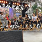Hey look who is on stage before their performance! #1DonGMA http://t.co/ImRiFTcmqH