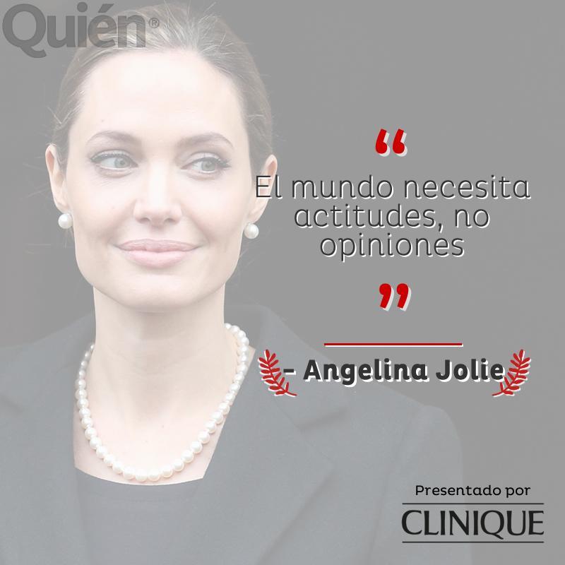 #ListaParaLoQueVenga #FraseDelDía - Angelina Jolie Presentado por @CliniqueMexico http://t.co/xSKaleVYtJ