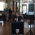 LIVE on #Periscope: @SaintXavier President Christine Wiseman: https://t.co/EbgcfVzWVF http://t.co/13O2gIlVBw