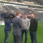 PHOTO: Happy to have welcomed the @SkySportsNewsHQ #92Live team to the KC Stadium http://t.co/IiEF1PH4ji