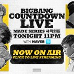 [BIGBANG - COUNTDOWN LIVE : MADE SERIES 사옥회동] Watch COUNTDOWN LIVE @ http://t.co/IkLaHhBWjQ #BIGBANG #MADESERIESE http://t.co/Up7nBCkUFa