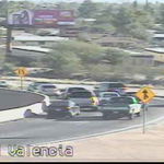 A look at this crash causing slowing for those entering NB I-19 at Valencia. Use Irvington for highway access. http://t.co/5yuB1sRj2f