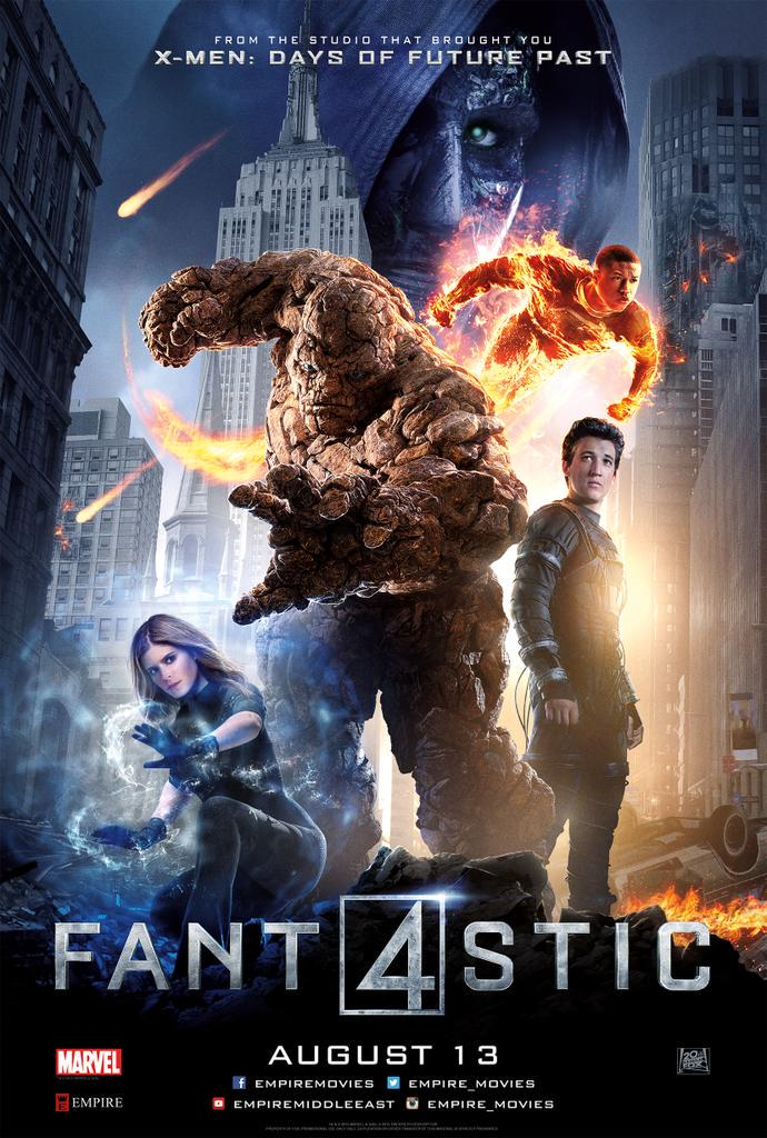 Quote & Name the Director of the #Fantastic4 to be one of 5 winners of tickets to the premiere @Empire_Movies! http://t.co/ccRZWf04Ek