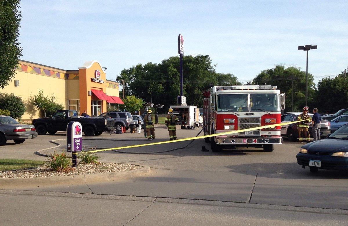 Suspected meth lab under investigation at Cedar Rapids Taco Bell http://t.co/qcjwEJmasP http://t.co/rFYX7TB2gB