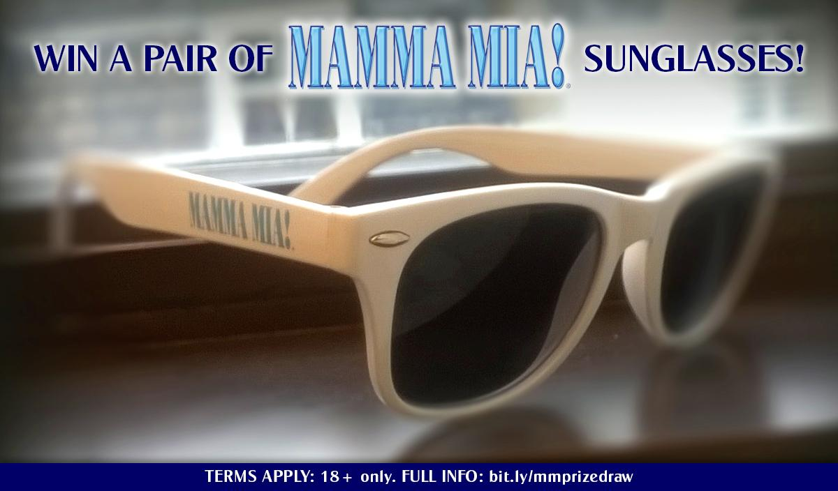 Want to win a pair of MAMMA MIA! sunglasses? RT now with #WinMammaMiaSunnies