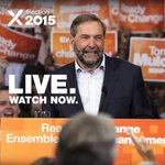 LIVE: Tom brings the Campaign for Change to #Montreal – watch here: http://t.co/sQiuWXy5Ox #NDP #Ready4Change http://t.co/4hSWiCRmUz