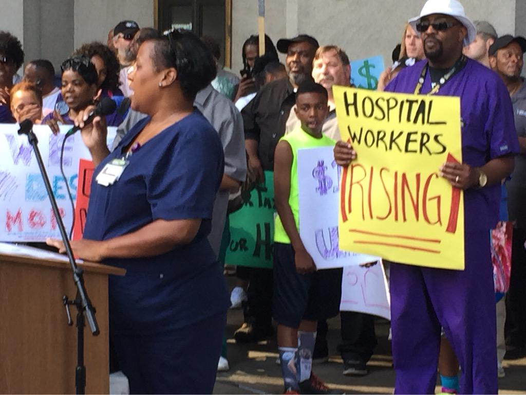 SharyceGreene RN #Pittsburgh is a hospital town, time for hosp workers to lift Pgh up #pghagenda @PGHHospitalWork http://t.co/RuPf3016zO