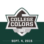 #CollegeColors Day is coming! Wear your Green & White and let everyone know how awesome it is to be a Spartan! #MSU http://t.co/Ls7vL4qvuB