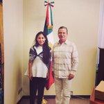 @EuniceArias se reúne con el embajador en el Vaticano y ex gobernador de #Querétaro Mariano Palacios Alcocer http://t.co/1abSIEz68i