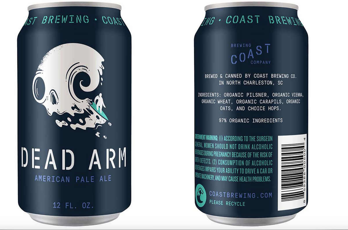 Sneak preview of some new can designs! Up 1st: Dead Arm West Coast Pale. With huge props to @Fuzzco #cans #craftbeer http://t.co/9FTMBNLYKK