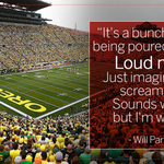 When asked what it was like to play in Oregons Autzen Stadium, Arizona safety Will Parks had quite an answer: http://t.co/JY58Xd00bW