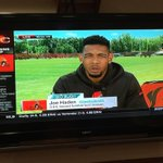I see you @joehaden23 repping the #Browns on @SportsCenter! #HadenNation http://t.co/nXn20vH1hE