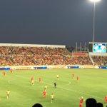 Ξεκίνησε ο αγώνας. APOEL FC - @fcmidtjylland (#UCL 3QR-2Leg) #apoelfcofficial #apoelmidtjy http://t.co/UoJ2TBKi3Y