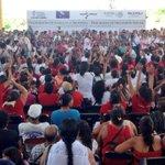 Mensaje de @paula_hdz titular de @Prospera_MX en transición de familias al programa en Pinotepa Nal, #Oaxaca http://t.co/cSzM4PGMcD