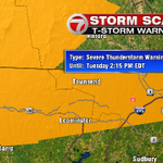 Severe thunderstorm warning extended east, includes northeast Worcester and Northern Middlesex County. Until 2:15pm. http://t.co/OMyWUrtjHv