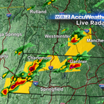 A number of severe thunderstorm warnings up right now. @ericfisher going live on #WBZ for cell in Worcester County. http://t.co/h8H7VOajey