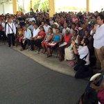 Mensaje de @Rosario_Robles_ en Pinotepa Nacional #Oaxaca en transición de familias a @Prospera_MX http://t.co/agV4EXpLT5