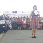 En uso de la palabra @Rosario_Robles_ en evento de #mujeres #Prospera en Pinotepa con @GabinoCue http://t.co/wUTuabNaqr