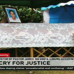 Victim of Pastor James Nganga Limuru accident buried #PastorOfImpunity @SmritiVidyarthi @MarkMasai http://t.co/d56fNznrGA