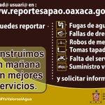 RT #GenerandoBienestar #YoValoroelAgua #Oaxaca #México @GobOax @GabinoCue http://t.co/MTFHuOzynt