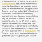 Our prayers are with the Capehart family. http://t.co/xm9uw6LYX0