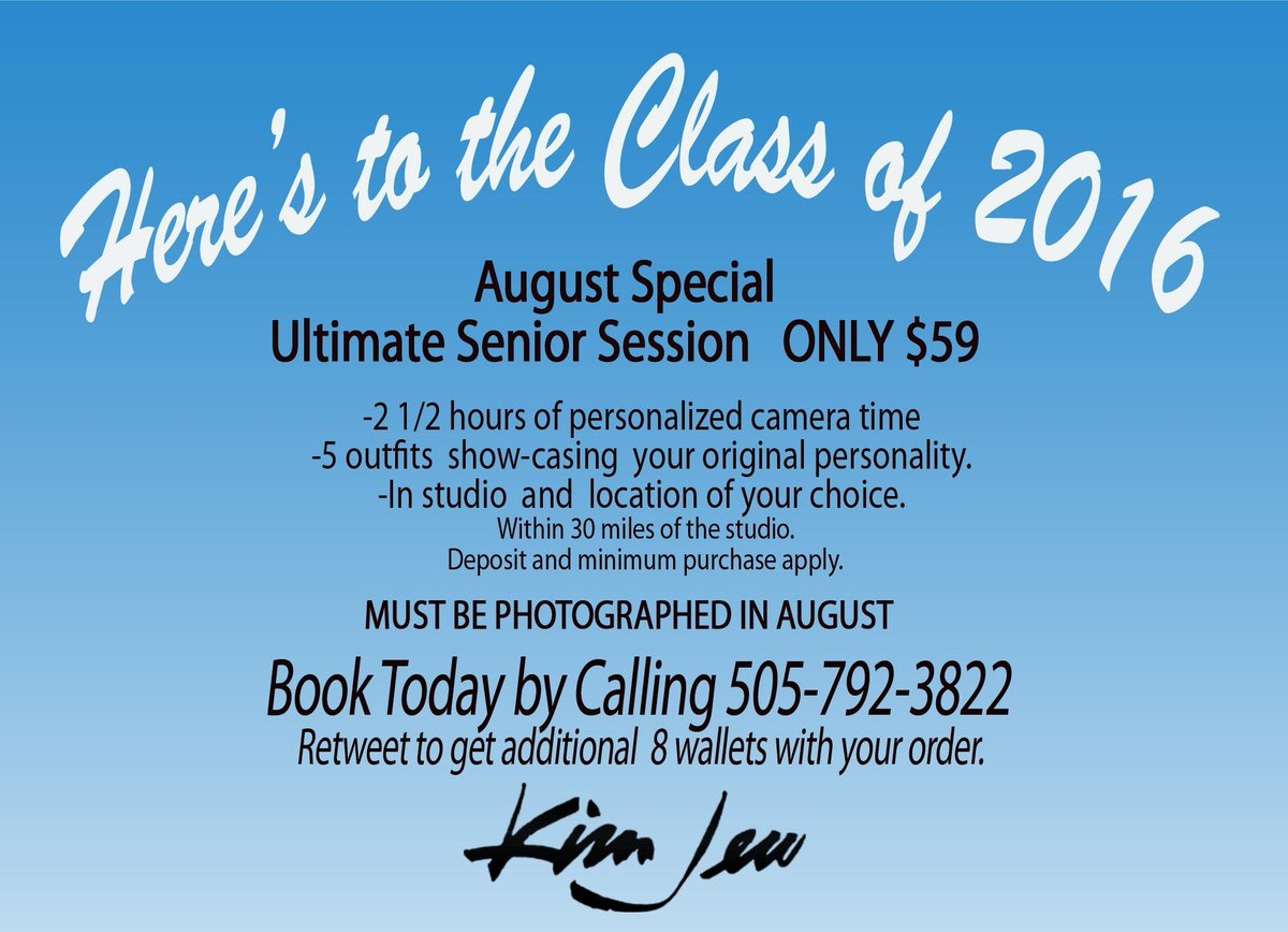 Here's to the Class of 2016 #kjfamous #classof2016 #seniorportraits #ABQ http://t.co/aMWBhxizgS