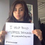 .@isisAnchalee #ILookLikeAnEngineer campaign celebrates female engineers & defies stereotypes http://t.co/z4XtBw9PTf http://t.co/wI6VPOEw2S