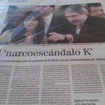Doble página en El Mundo, España. No entiendo como no llueven inversiones. (Salvo narcos) #LaMorsaEsAnibal http://t.co/bUjadBbUYK