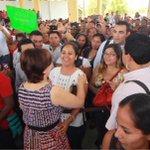 Reconoce @Rosario_Robles_ decisión del @GobOax al rescatar la rectoría estatal de la #educación #NuevoIEEPO #Oaxaca http://t.co/w2VnSskO9F