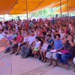 La @SEDESOL_mx busca romper el círculo de la pobreza con educación de calidad y empleo en #Oaxaca @Prospera_MX http://t.co/agz9ly6KiT