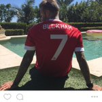 David Beckham on instagram. #legend #mufc #BeTheDifference http://t.co/rMCBQO0phI