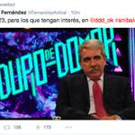 """Che @FernandezAnibal tengo que retwitearte así porque desde tu """"sensación de seguridad DEMOCRATICA"""" me BLOCKEASTE!!! http://t.co/iuU1D2qgOr"""