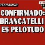 Ya no me quedan dudas!! #BrancatelliPelotudo #MartesIntratable http://t.co/y1cnAXhYGg