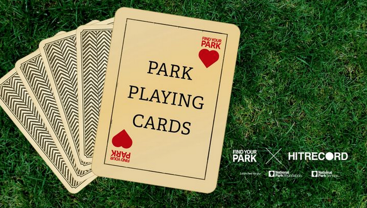 RT @hitRECord ILLUSTRATORS: We're making a set of Nat'l Park playing cards. Design 'em here - http://t.co/e4glRAts46 http://t.co/PfCPYAOnsd