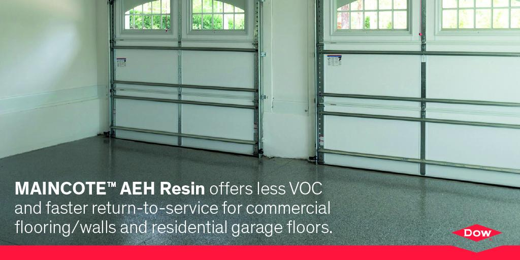 Maincote aeh resin = ultra-low vocs for a more #sustainable garage on carports and more, carpet floors and more, lawn care and more, painting and more,