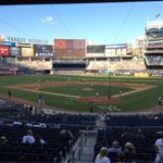 Watching Yankees Vs Red Socks at Yankees stadium with @the_helen_84 http://t.co/hVW6XUbcOO