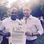 Honoring Cpt Walton from @NYPD49Pct for his leadership & for building stronger bonds with #Bronx residents #NNO2015 http://t.co/TT85gR11Jv