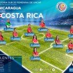 Así juega #LaSele Sub 20 Femenina ante la similar de Nicaragua. #VamosSele. http://t.co/38Pdw1XCFc