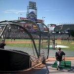 #Mariners taking BP under blue skies in Denver. http://t.co/uQIsnMqZi0