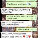 De Manija ni hablemos !! @22KhalilZafe #Mañana #Libertadores #River http://t.co/R6t9JTgDlJ