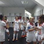 Las chicas de #LaSeleFemeninaSub20 ya están listas para el encuentro. http://t.co/kHGLPRiTpC