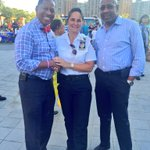 A great turnout in #CoopCity for #NationalNightOut #RaiaOfSunshine #NYPD @CCPDnyc @riverbaycorp @AndyKingNYC http://t.co/kNLYNUuNav
