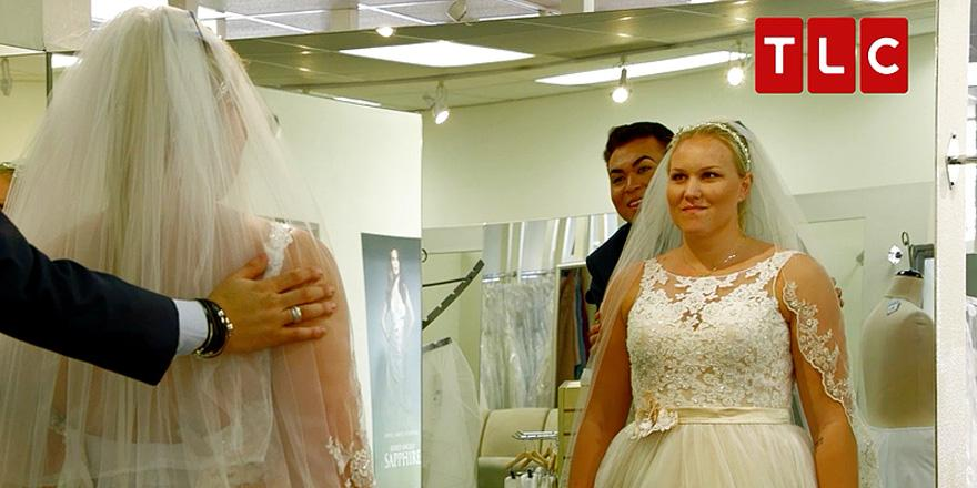 .@TLC's MyGiantLife shows what it's like to shop for a wedding dress... when you're 6'7